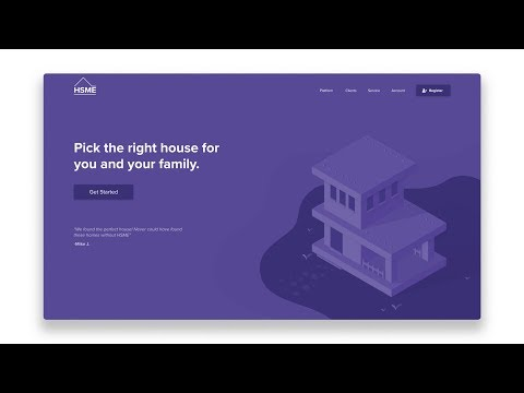 How to Design and Code a Responsive Isometric Illustration Website - Part 3