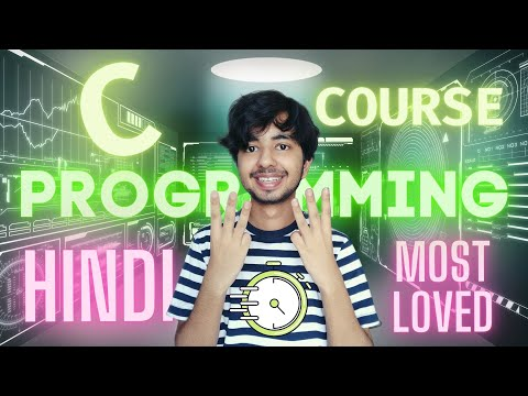 Learn C Programming Complete Course for beginners in Hindi