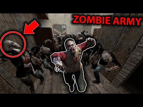 How to Defeat the ZOMBIE ARMY in Granny Horror Game... (Zombie vs Granny) (видео)