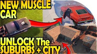 NEW MUSCLE CAR VEHICLE to Unlock SUBURBS + CITY - Last Day on Earth Survival Update 1.9.9