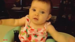 Funny Babies Dancing   A Cute Baby Dancing Compilation 2016   YouTube 480p