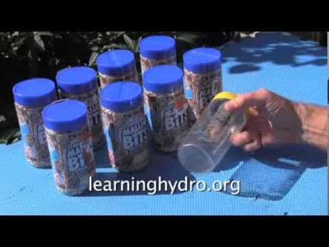 Homemade Hydro Dip Activator | hydroponic fruit trees