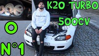 """HONDA CIVIC K20 TURBO """"DL"""" - O verdadeiro Nº1 !!!"""