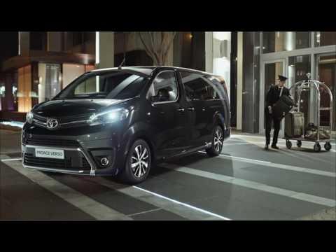 Toyota Proace Verso Минивен класса M - рекламное видео 3