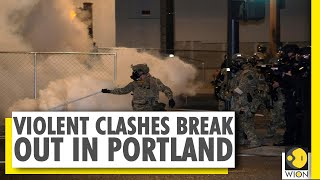 Crackdown on Portland protesters after Trump order to protect monuments - Download this Video in MP3, M4A, WEBM, MP4, 3GP