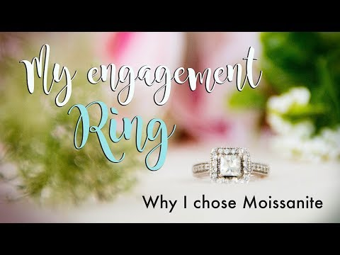 Moissanite Engagement Ring Review