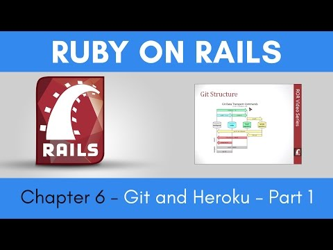 Learn Ruby on Rails from Scratch - Chapter 6 - Git and Heroku - Part 1