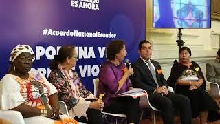 ACUERDO NACIONAL POR UNA VIDA LIBRE DE VIOLENCIAS