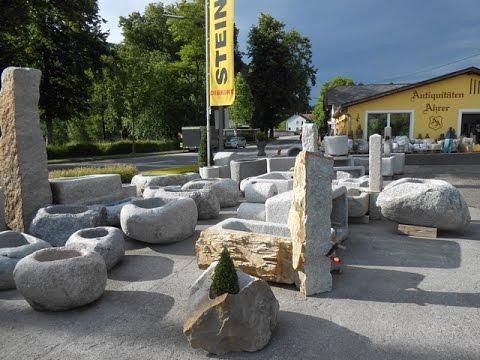 Tröge und Brunnen aus Granit