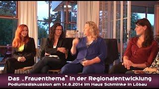 """preview picture of video 'Das """"Frauenthema"""" in der Regionalentwicklung - Teil 1'"""