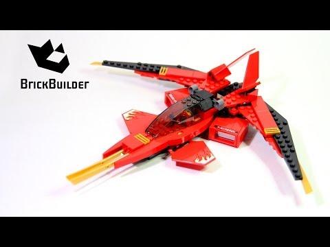 Lego Ninjago 70721 Kai Fighter Lego Speed Build Brick Builder