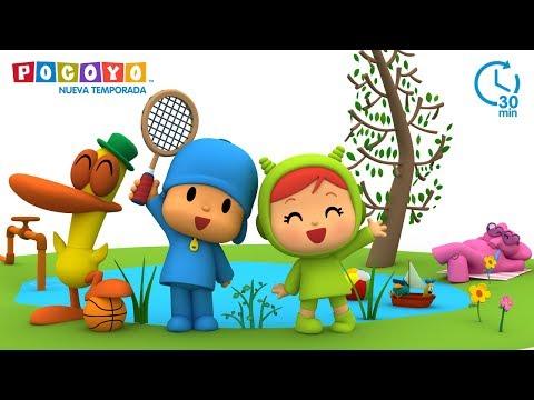 😃 POCOYÓ en ESPAÑOL - Diversión al aire libre [30 min] | CARICATURAS y DIBUJOS ANIMADOS para niños