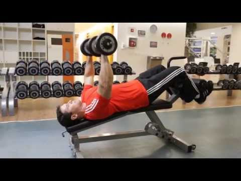 Dumbbell Decline Bench Press