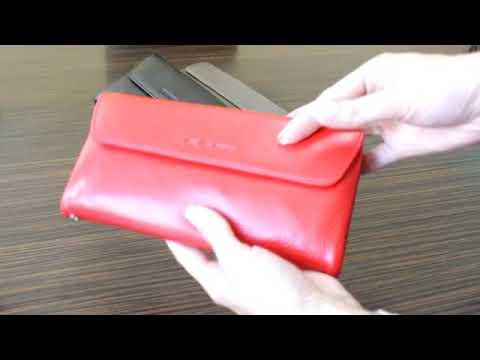 Кошелек de esse LC14825-GD02 Красный