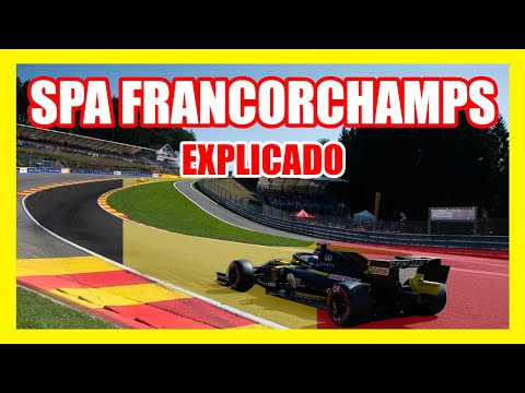 SPA FRANCORCHAMPS 💥 ¿El MEJOR CIRCUITO? *GUÍA Set Up* Eau Rouge 🚨 F1 vs GT | GP Bélgica Formula 1
