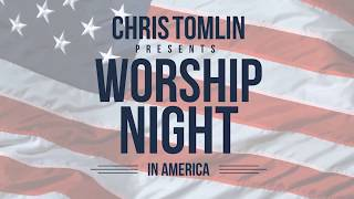 What is Chris Tomlin's favorite worship song right now?