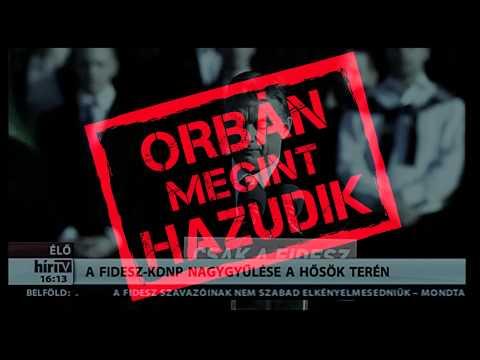 Orbán Viktor utolsó hét hazugsága