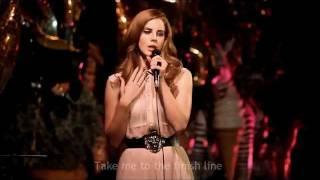 Lana del Rey - Born to die HD (OFFICIAL VIDEO LYRICS LIVE)
