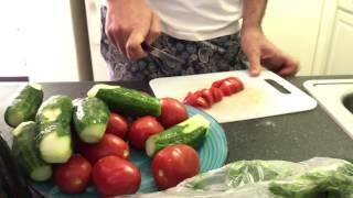 ХОЛОДИЛЬНИК ЭМИГРАНТА готовлю Гаспачо 04.17 цены на продукты в США