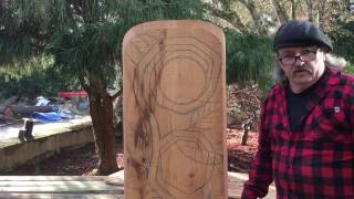 Power Carving Fairy House Door Video 4 Working On The PatternBillyDillardArt
