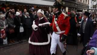 preview picture of video 'Dickensian Christmas Festival Parade // 2012 // Rochester, UK'