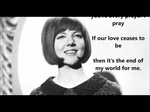 You're My World  CILLA BLACK (with lyrics)