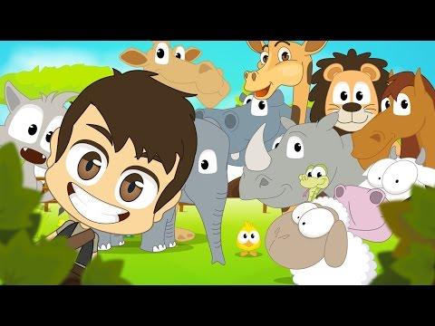 Animals for Kids in Arabic - اسماء الحيوانات للأطفال باللغة العربية