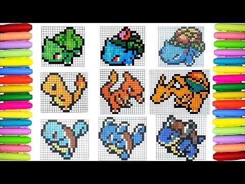 Ponyta Pokemon Pixel Art 8 Bit смотреть онлайн на