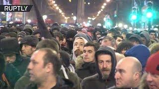 В Бильбао радикалы провели протест против приезда фанатов «Спартака» на матч с «Атлетиком»