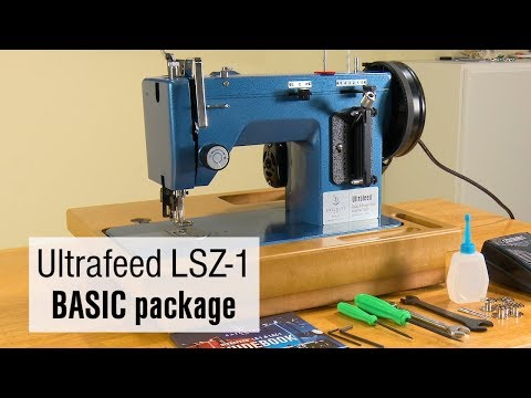 Sailrite Ultrafeed LSZ40 BASIC 40400V Walking Foot Sewing Machine Beauteous Sailrite Ultrafeed Lsz 1 Plus Walking Foot Sewing Machine