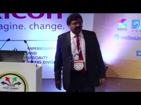Avijit Mukherjee, Ricoh India Ltd at Print Summit 2015