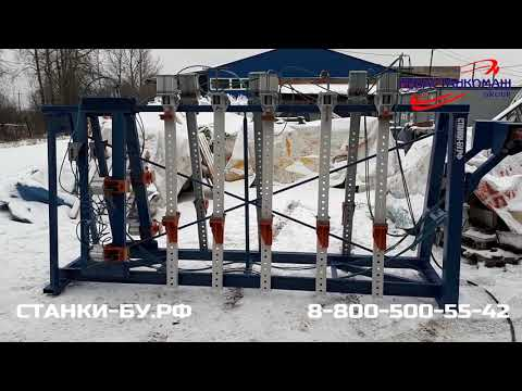 Двухсторонняя пресс-вайма ЛОЗА В-51-51 2500x1200 б/у