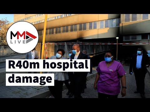 R40m medical supplies, PPE destroyed in Charlotte Maxeke Hospital fire
