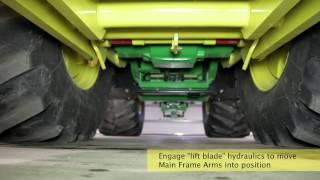 Degelman Dozer Front Mount HQT (Hydraulic Quick Tach) Fit-up