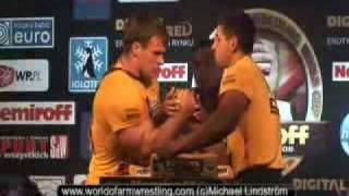 Taras Ivakin VS Denis Cyplenkov - World of Armwrestling.com