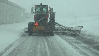 Garden City, KS Blizzard Ends And Clean Up Begins - 2/23/2019