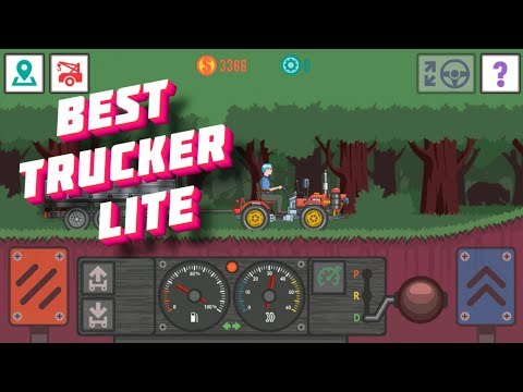 Best Trucker Lite transporting iron to a furniture factory