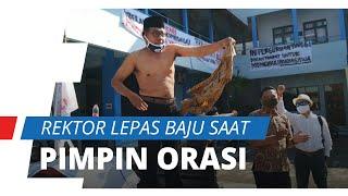 Rektor Uniba Solo Lepas Baju saat Pimpin Demo, Pramono: Saya Nyatakan Mundur