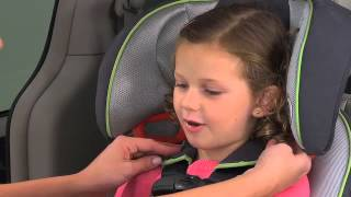 Graco - How to Properly Rethread & Position Harness - Toddler Car Seats