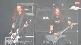 Exodus - Deranged+Body Harvest @ Dynamo Metal Fest (Eindhoven, NL) 2017-July-15
