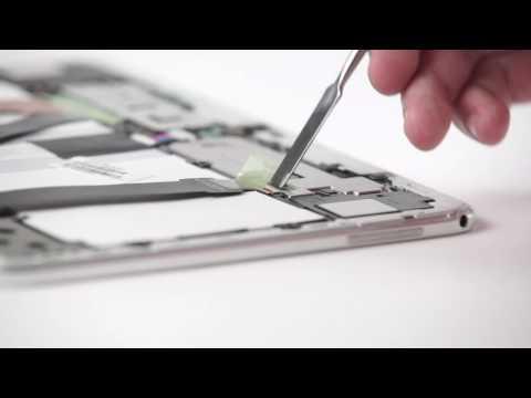 Akku wechseln Samsung Galaxy Tab 3 10.1 GT-P5200 Anleitung Akkutausch Battery Replacement