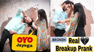 Prank On Girlfriend Real Breakup Prank On Khushi || Prank Gone Wrong || Heart Touching Prank Video - Download this Video in MP3, M4A, WEBM, MP4, 3GP