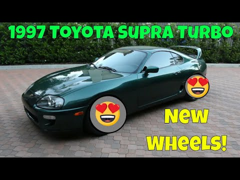 NEW WHEELS for my 1997 Toyota Supra!