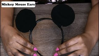 DIY Mickey Mouse Ears!