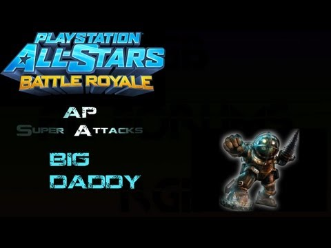 The Impressive Super Move Of PlayStation All-Stars Battle Royale's Big Daddy