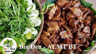Cắn lưỡi với món lưỡi bò khìa nước dừa | Bin Đen AEMT BT - Tập 111