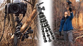 That Flexible Tripod You See Everywhere | Sunpak PlatinumPlus Flexible Tripod Review
