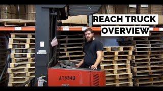 Raymond Reach Truck | Basic Training Crash Course | Control Overview