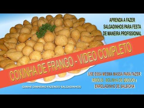 Coxinha de Frango - rec 1