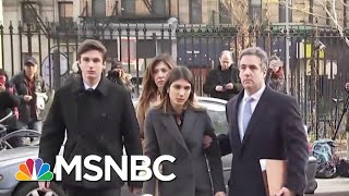 Bush Lawyer: Michael Cohen Jailed Means Trump's 'Goose Is Cooked' | The Beat With Ari Melber | MSNBC | Kholo.pk